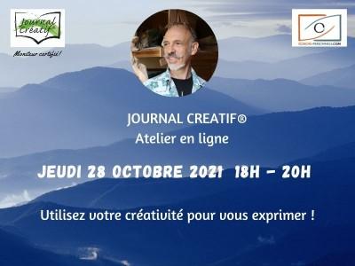 atelier Journal créatif 28 octobre 2021