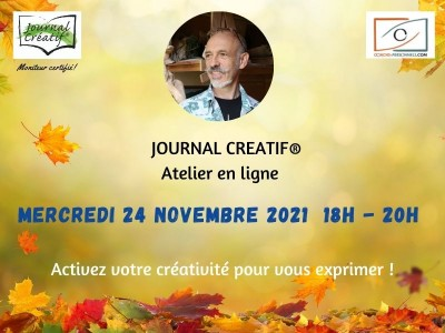 Atelier Journal créatif du 24 novembre 2021