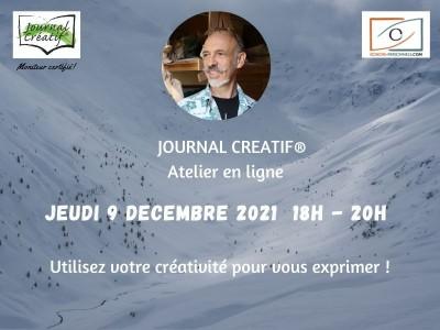 Atelier Journal créatif 9 décembre 2021